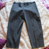 pantalon tailleur gris