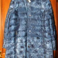 Doudoune bleu