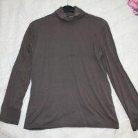 t-shirt manches longues brun