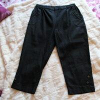 Pantacourt jean noir