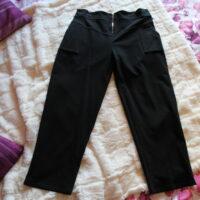 pantalon toile noir