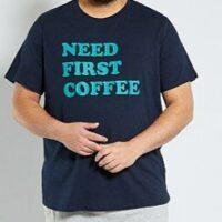 T-shirt homme marque kiabi